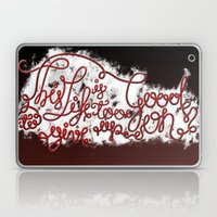 This Life - Red Version Laptop & iPad Skin