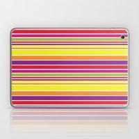 sunshine stripe Laptop & iPad Skin