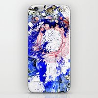 Blue W/No Rings iPhone & iPod Skin
