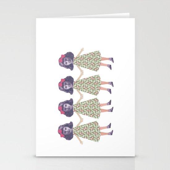Christmas love Stationery Card