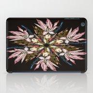 Flemish Floral Mandala iPad Case