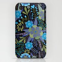 iPhone 3Gs & iPhone 3G Cases featuring Emerging In The Dark by Darlene Seale