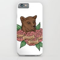 iPhone & iPod Case featuring Bearly There by Bare Wolfe