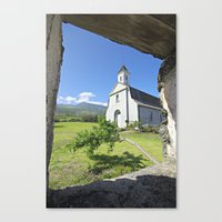 St. Joseph's Church, Maui Canvas Print