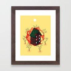 Cabin In The Woods 2 Framed Art Print