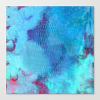 #space Canvas Print