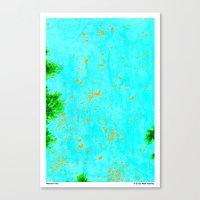 Monarch Sky Canvas Print
