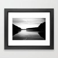 Lake Effects Framed Art Print
