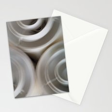 vintage blurry luminaries Stationery Cards