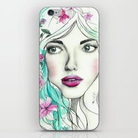 Ice Queen iPhone & iPod Skin
