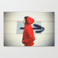 Against the Flow Canvas Print