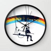 Paint it Black Wall Clock