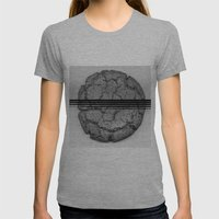 titi Womens Fitted Tee Athletic Grey SMALL