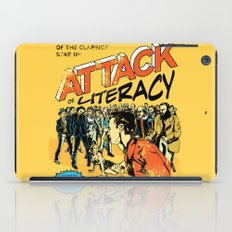 Attack of Literacy iPad Case