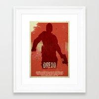 Dredd - I Am The Law Framed Art Print