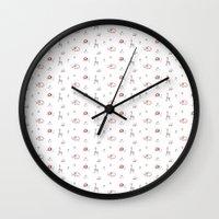 Animal Print Wall Clock