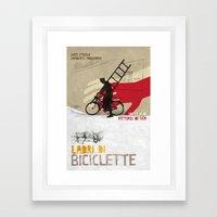 Ladri Di Biciclette II Framed Art Print