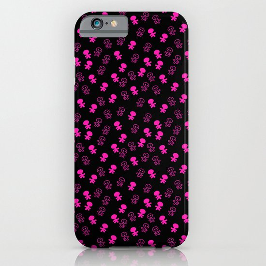 Aliens-Pink iPhone & iPod Case