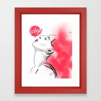 Ecstasy!  Framed Art Print