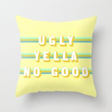 Home Alone (Rule of Threes) Throw Pillow