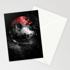 Poked to Death 3D Stationery Cards