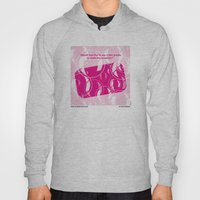 No027 My Fight Club minimal movie poster Hoody