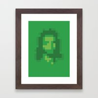 Mosaic Messiah ( Jesus ) Framed Art Print