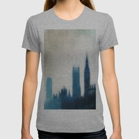The Many Steepled London… Womens Fitted Tee Athletic Grey SMALL