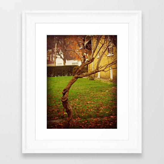 Twisted Life Framed Art Print