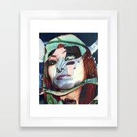 ELISA_GLITCH_IN THE SKY … Framed Art Print