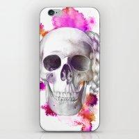 Braided Skull iPhone & iPod Skin