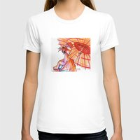japanese T-shirts featuring Japanese by Cemile Demir Uzunoglu