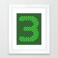 One.. Two.. Tree Framed Art Print