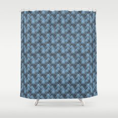 Star pattern Shower Curtain