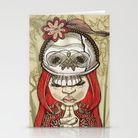 I Wear My Lucky Skull  Stationery Cards