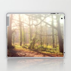 Woodland Fog Laptop & iPad Skin