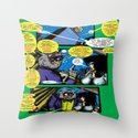Bird of Steel Comix – 6 of 8 (Society 6 POP-ART COLLECTION SERIES)   Throw Pillow