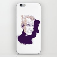 Sam Beckett iPhone & iPod Skin