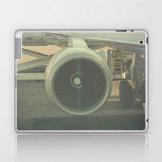 Vintage Airplane Engine  Laptop & iPad Skin