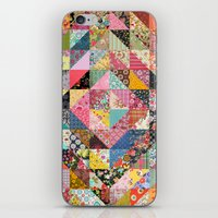 Grandma's Quilt iPhone & iPod Skin