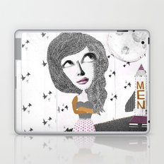 If we can put one man on the moon... why not them all? Laptop & iPad Skin