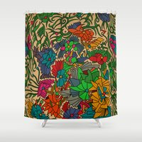 - forest - Shower Curtain