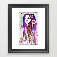 Dripping Framed Art Print