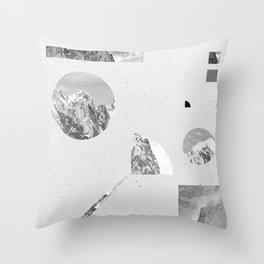 Throw Pillow - monochromatic - .eg.