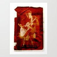 M. Ward Art Print