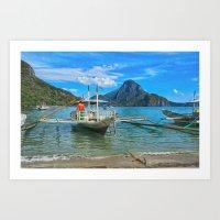 Palawan Beach Philippine… Art Print
