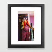 Clown Durilov Framed Art Print