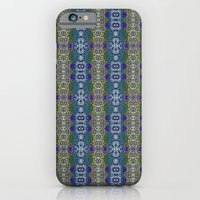 iPhone & iPod Case featuring Deco Garden by TheLadyDaisy