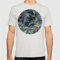 Leaves Evolved 4 Mens Fitted Tee Silver SMALL