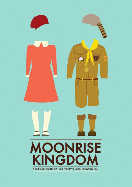 Moonrise Kingdom Poster Canvas Print